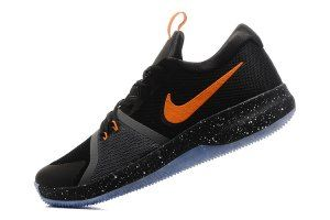 Mens Nike Zoom Assersion EP Black Orange Basketball Shoes  f6d6b5cfb6