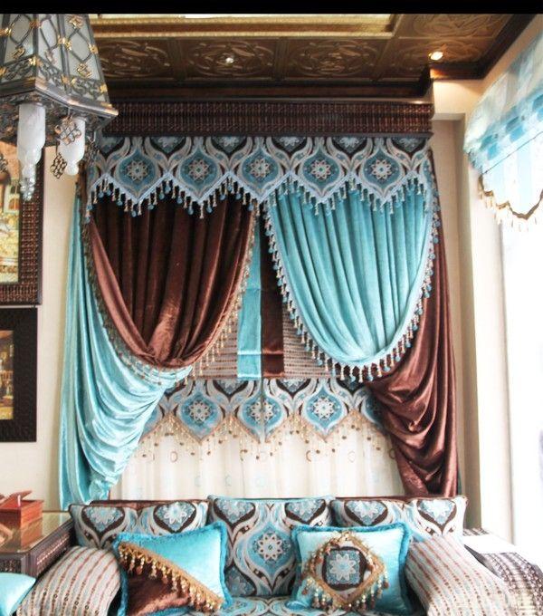 Картинки по запросу шторы в восточном стиле