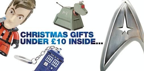 Christmas Inside: Great Gifts For Under £10 @ ForbiddenPlanet.com