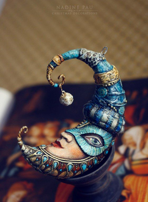 Nadine Pau - masks, dolls and ornaments.'s photos