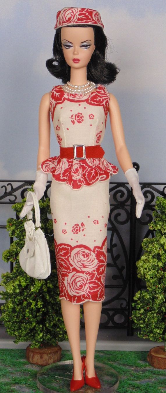 Rouge Roses for Silkstone Barbies by HankieChic on Etsy now
