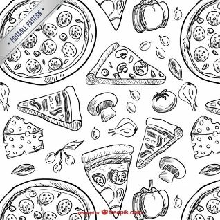 168 best PIZZA MY LOVE images on Pinterest  Pizza pizza Drawings