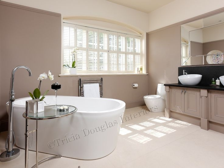 Edwardian House renovation of Master Bathroom Tricia Douglas www.triciadouglasinteriors.co.uk #Home Decor