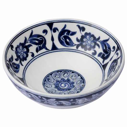 Iznik ware blue bowl, Turkey