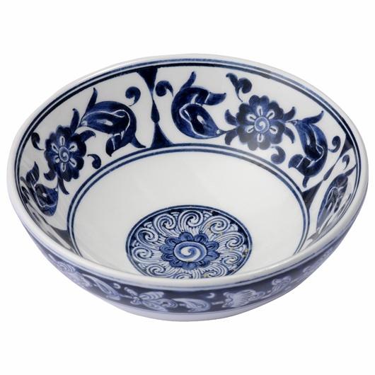 Iznik ware blue bowl, Turkey