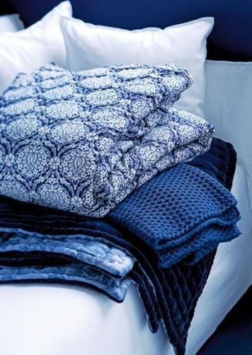 blue knit