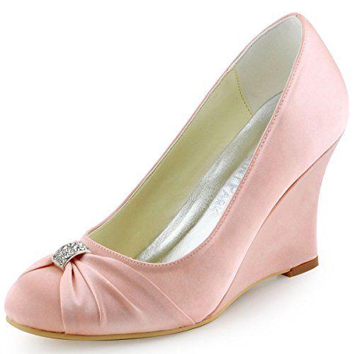 ElegantPark EP2005 Women's Wedge Heel Satin Evening Shoes Pink US 4 Elegantpark http://www.amazon.com/dp/B011B29TR0/ref=cm_sw_r_pi_dp_RxROwb1GRJGZT