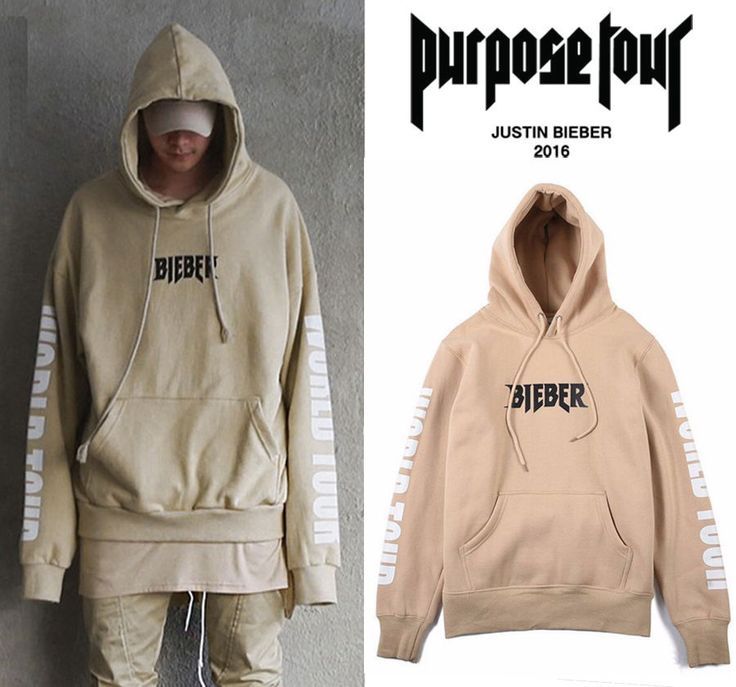 New 2016 Rare SOLD OUT Hoodie WESTERN STYLE FOR JUSTIN BIEBER PURPOSE TOUR Sand | Clothing, Shoes & Accessories, Men's Clothing, Sweats & Hoodies | eBay!