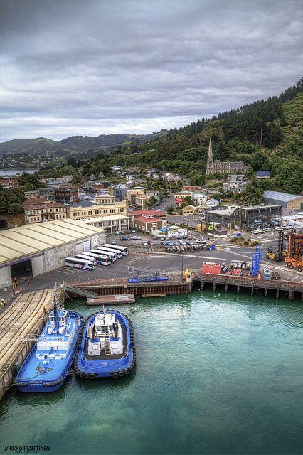 Port Chalmers - Gateway to Dunedin, South Island, New Zealand