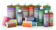 Dr Bronner's soap uses