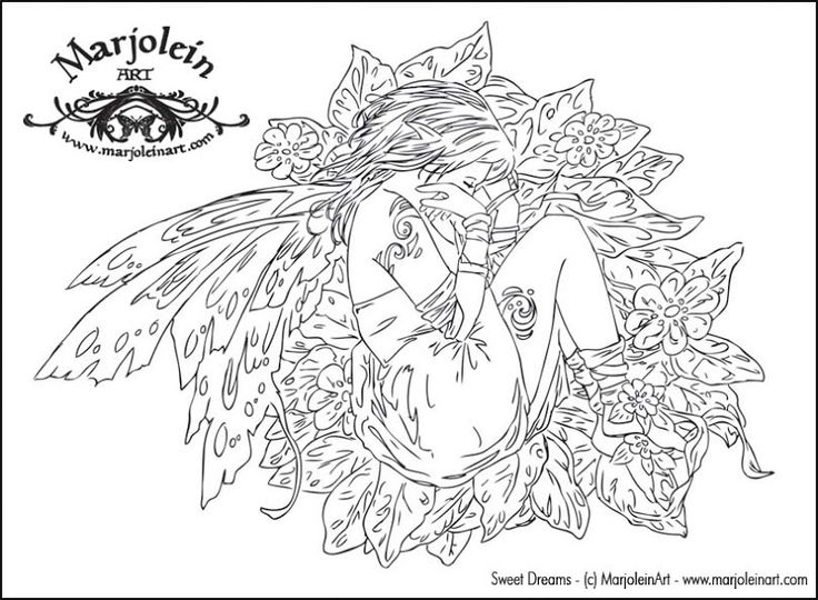 here are some free fairy coloring pages by marjolein gulinski linda ravenscroft and amy brown right cl