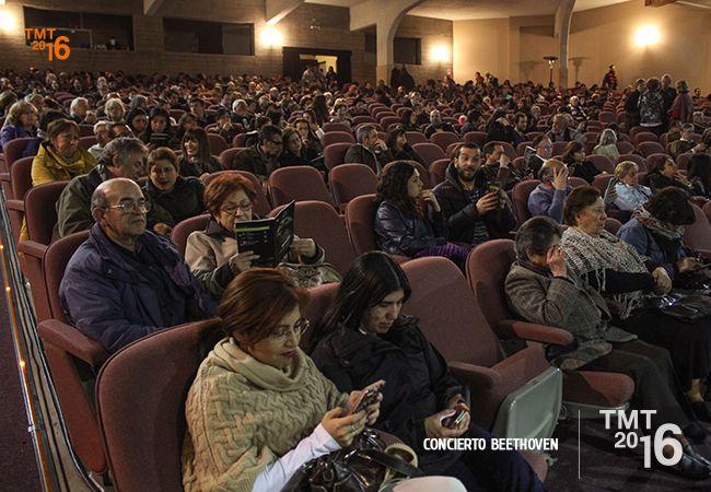 Gran Presencia de espectadores, Teatro Municipal Temuco 2016