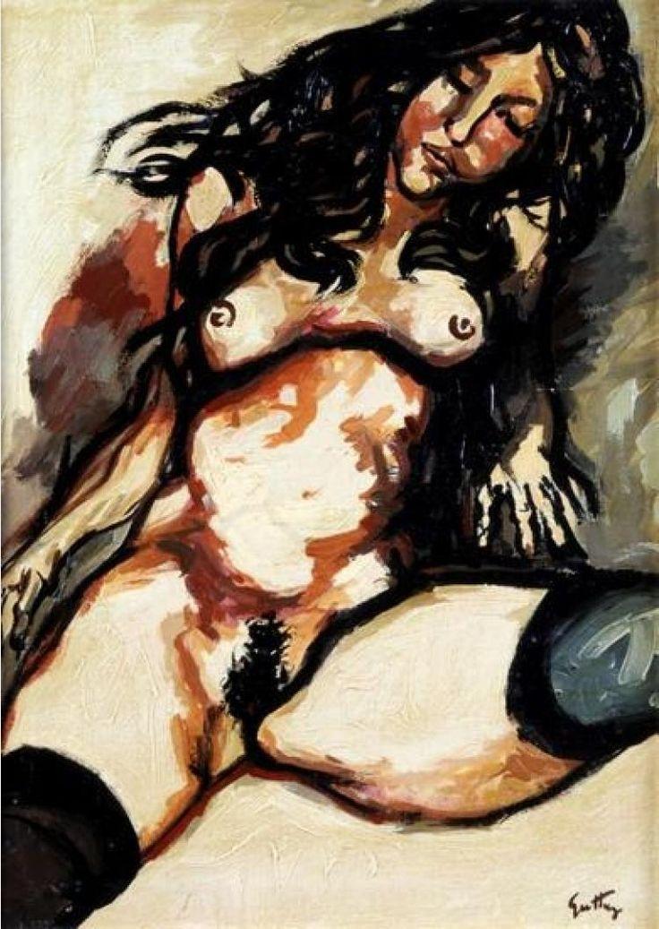 Nudo femminile -  Renato Guttuso