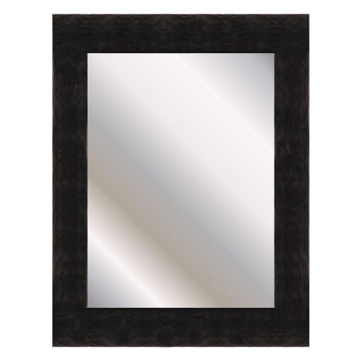 River Copper Black Wall Mirror - 68500