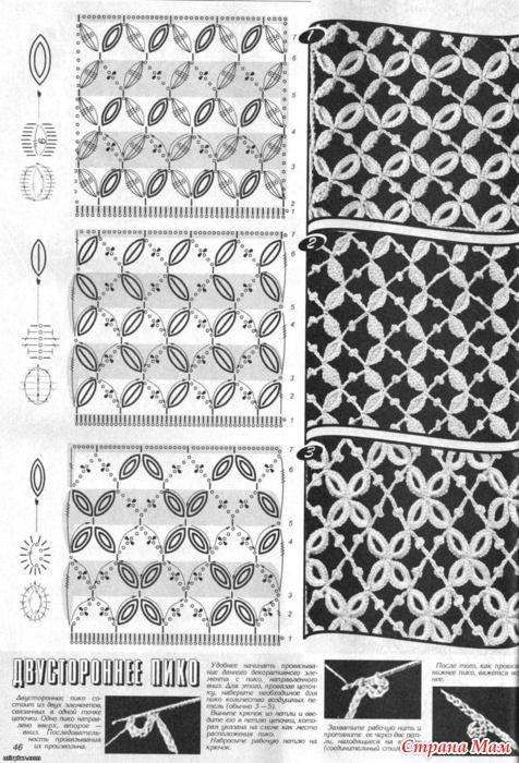 irish crochet pattern...