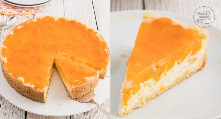 Tolle Kombination aus extrem cremiger Käsekuchen-Masse, feinem Mürbteig und fruchtigem Obst. Diese Schmandtorte mit Mandarinen schmeckt einfach jedem!