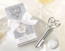 Romantische flessenopener KEY TO MY HEART