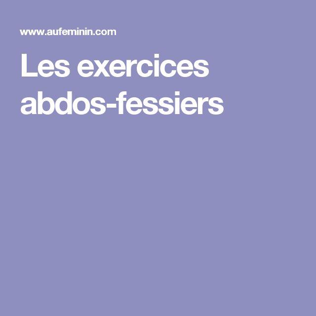 Les exercices abdos-fessiers