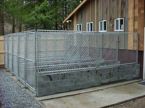 Commercial Dog Kennel Designs | Kennelseenfrom parkinglot and outside runs