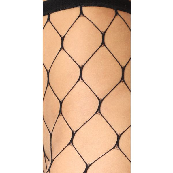 Emilio Cavallini Open Net Tights (€5,20) ❤ liked on Polyvore featuring intimates, hosiery, tights, black, sexy tights, emilio cavallini tights, sexy pantyhose, sheer hosiery and net stockings