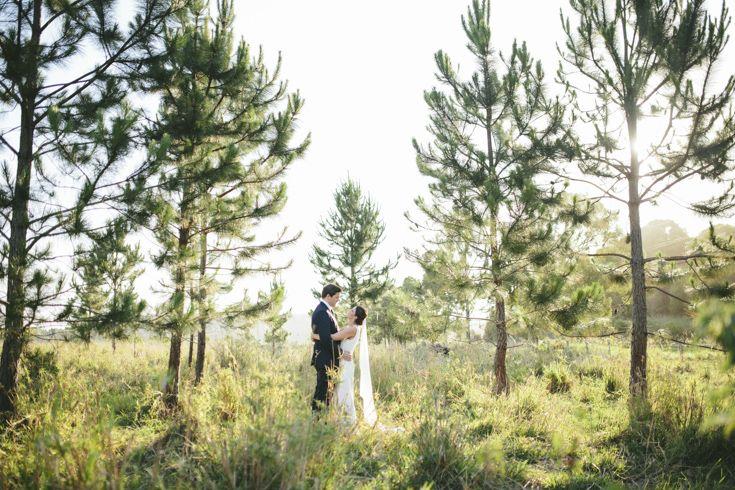 Byron Bay hinterland wedding.