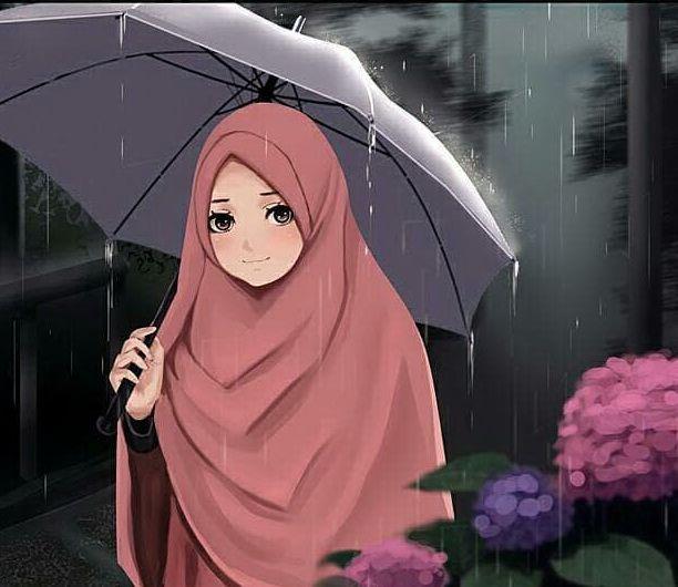 5600 Gambar Animasi Kartun Muslimah Cantik HD Terbaik