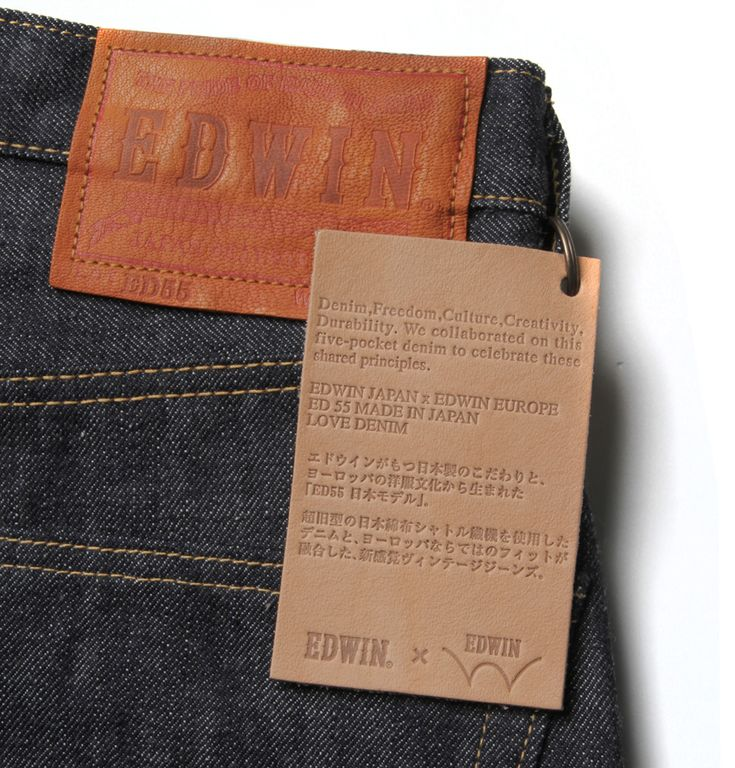 Edwin Made in Japan | Europe x Japan : Now in Stock - The Top Tier of Edwin Jeans : http://www.stuartslondon.com/edwin-m29