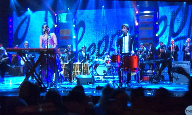 Sheppard performing at the ARIAs