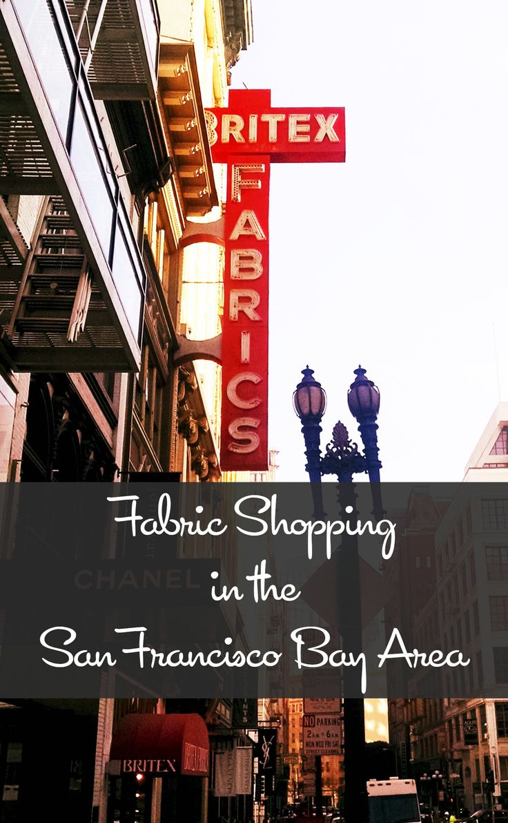 Where to go shopping in the San Francisco Bay Area!