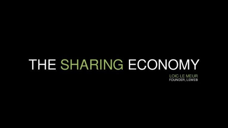 Nice overview of the main drivers behind the sharing economy... just wondering how far this will get (by Loic Le Meur via Slideshare)