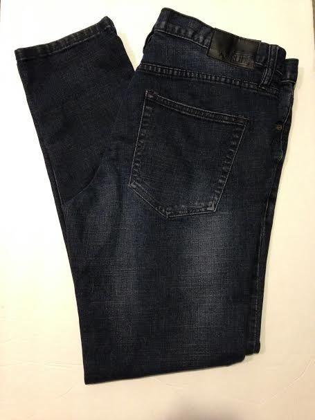Hot Topic Rude Dark Vintage Wash Men's Skinny Jeans, Size 36 x 32