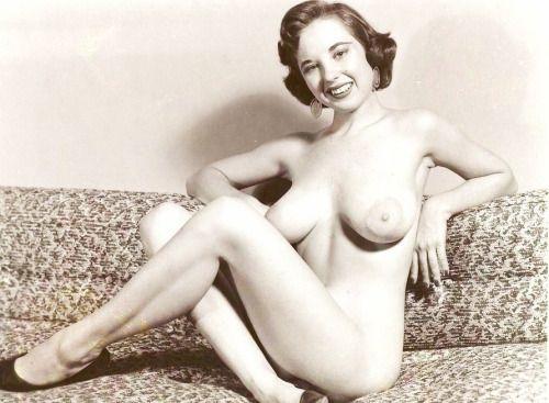 nude naked fifties boobs