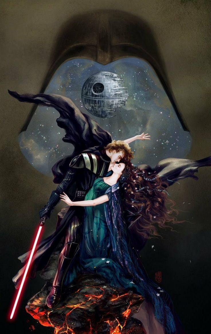 The Dark Side CANNOT resist true love!!