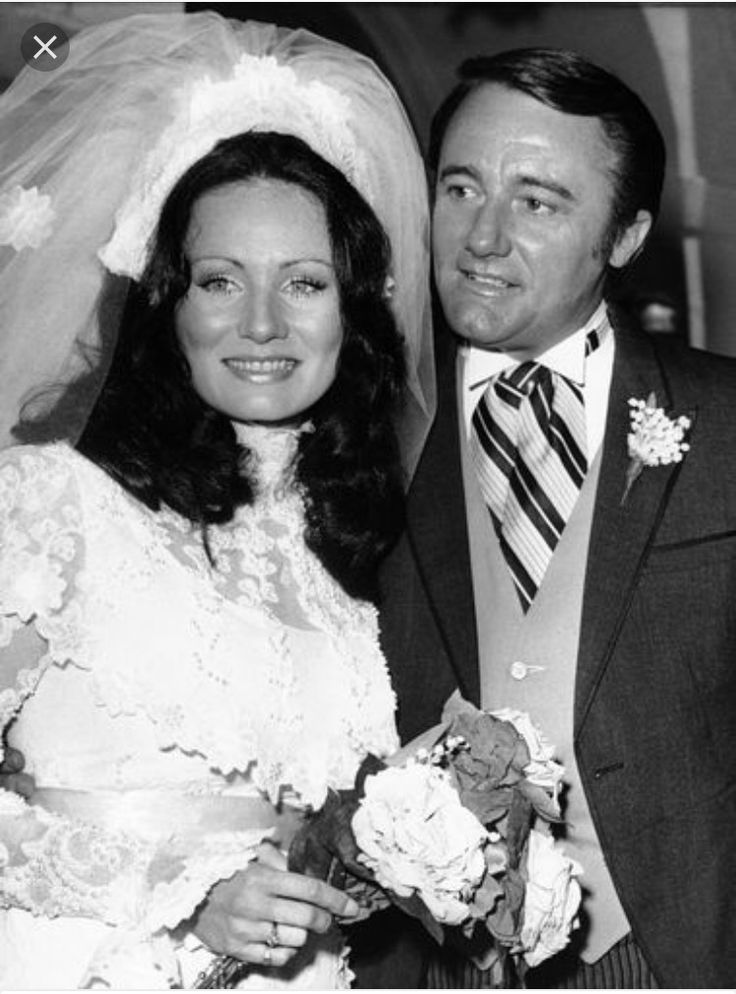 Robert Vaughn and Linda Staab