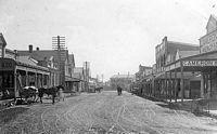 Main Street Maclean,   circa 1900