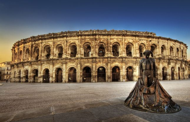 By far the best preserved Roman amphitheater in the world, the arena has been dominating the city of Nîmes for nearly 2,000 years,