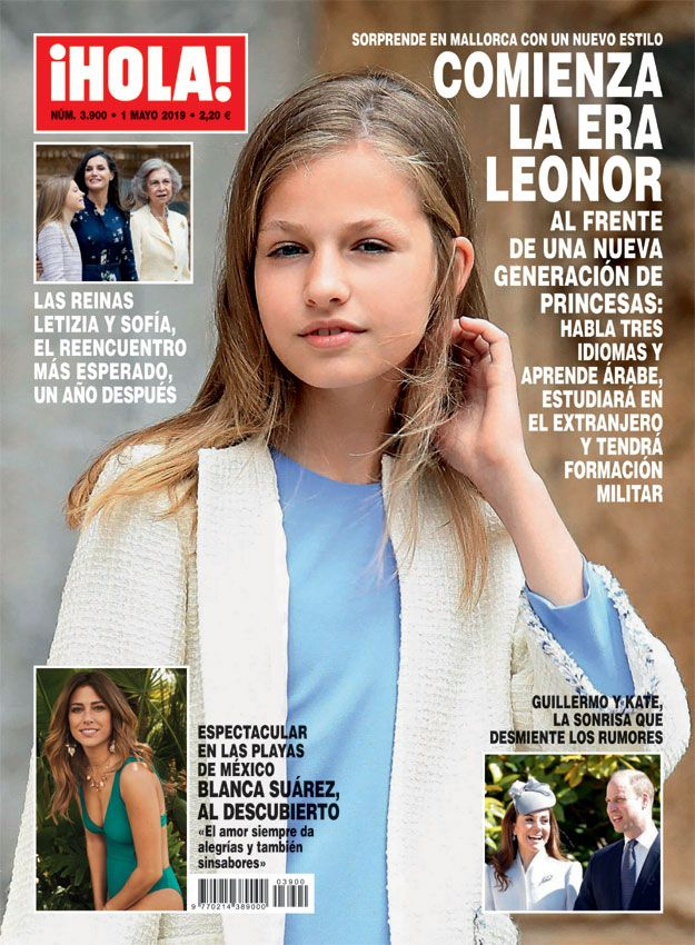 En Hola Comienza La Era Leonor Al Frente De Una Nueva Generación De Princesas Princesas Leonor De Borbón Novia Princesa