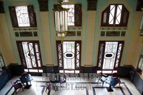Havana , Cuba ; Interior of the Art Deco Edificio Bacardi