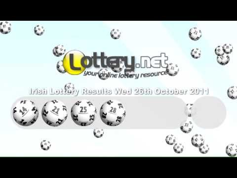 Irish lottery results 26th October 2011 - http://LIFEWAYSVILLAGE.COM/lottery-lotto/irish-lottery-results-26th-october-2011/