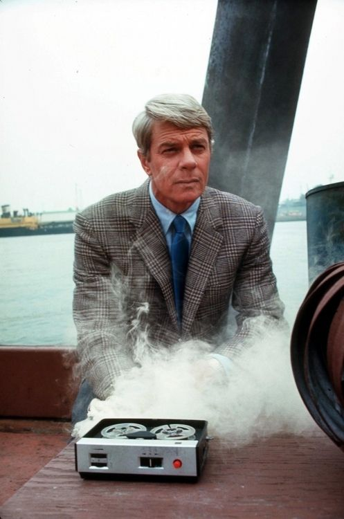 """This tape will self-destruct in 5 seconds. Good luck Mr. Phelps."" - Mission Impossible (CBS, 1966–1973)"
