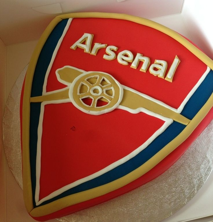 145 Best Images About Arsenal Cakes On Pinterest Baby