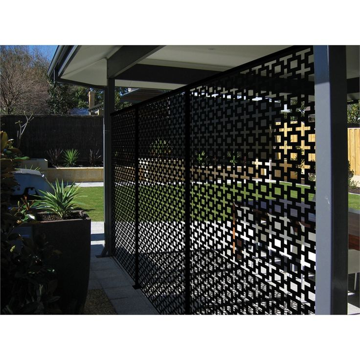 Matrix 2410 x 1205 x 7mm charcoalsahara d cor screen panel for Outdoor decorative screens