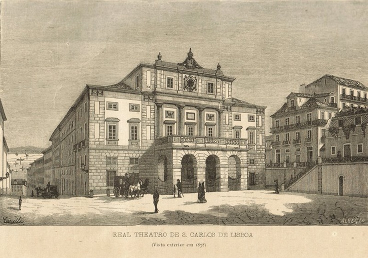 Sao Carlos Theater 1878 Lisbon's answer to la Scala Milan.