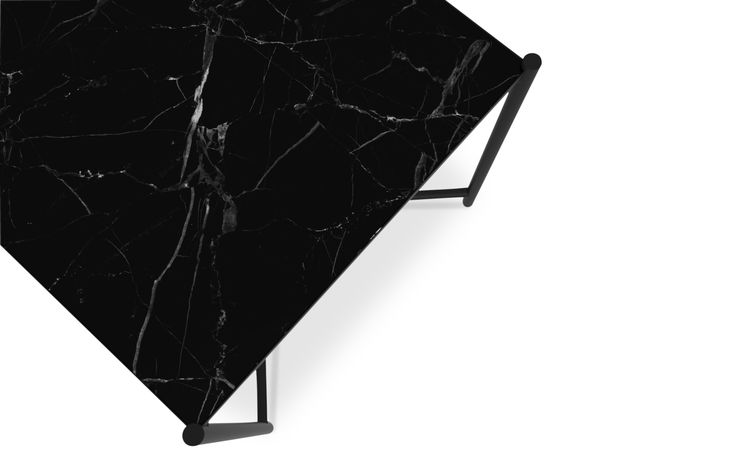The HANDVÄRK Side Table  Marble is a natural product with unique patterns and expressions - that also makes every single table unique.