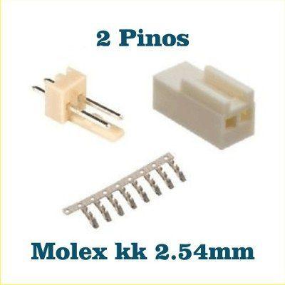 Conector Molex Kk Com 2 Pinos Pcb +Crimp +Terminal Código: 2510F Série KK® - Molex Passo: 2,54 milímetros Seu projeto mais valorizado com terminais para conexão entre placas e fios. Outras características: Categoria: Conector placa para fio ...