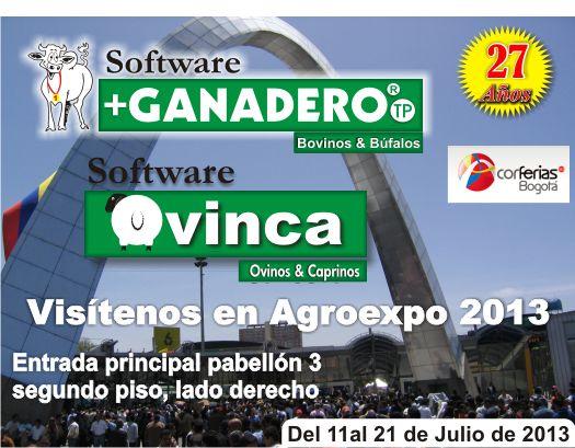 Presentes en Agroexpo 2013