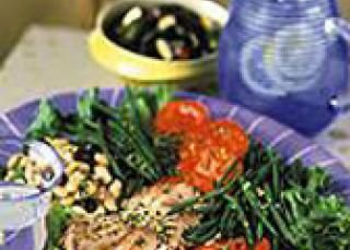 Salade niçoise traditionnelle