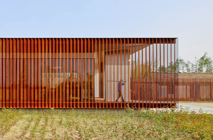 Unique Visitor Center in China by Vector Architects | Wave Avenue