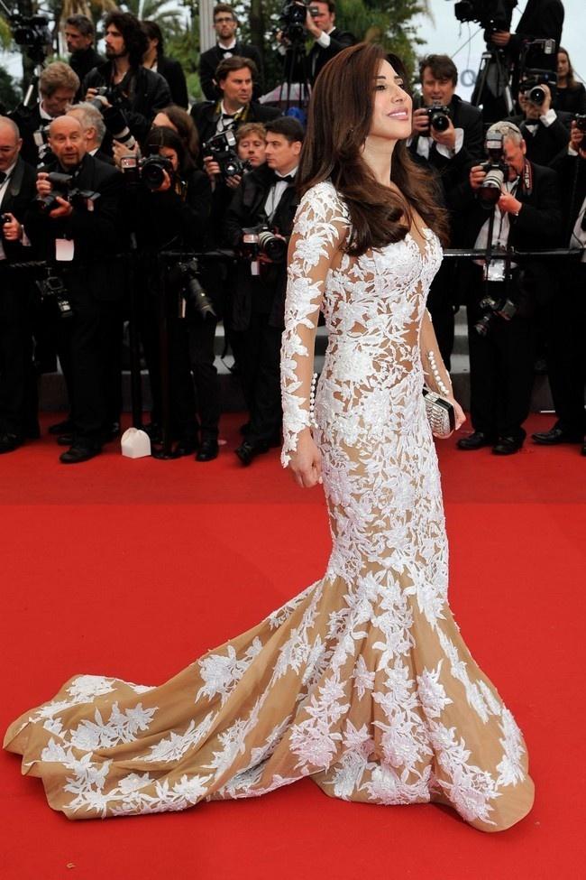 Najwa Karam at Cannes 2012