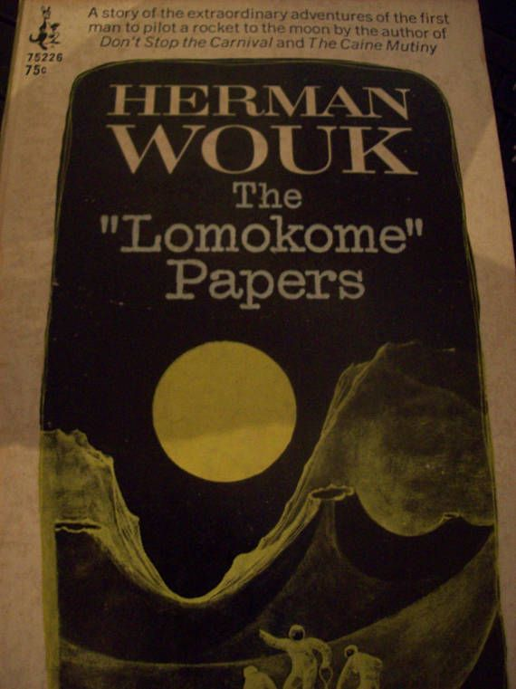 The Lomokome Papers Herman Wouk 1968 First Edition Paperback/